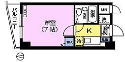 CITY高田馬場[1階]の間取り