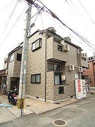 福岡県福岡市中央区唐人町2丁目の賃貸アパートの外観