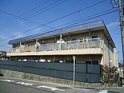 愛知県名古屋市名東区貴船1の賃貸アパートの外観