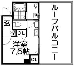 M'PLAZA香里弐番館[4階]の間取り
