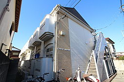 東京都東村山市萩山町3の賃貸アパートの外観
