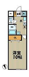 YAMASHIN・笛田[201号室]の間取り