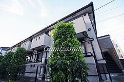 神奈川県川崎市高津区新作1丁目の賃貸アパートの外観