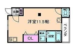 伊丹空港ルーム[2階]の間取り