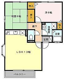 マレッサパーク[1階]の間取り