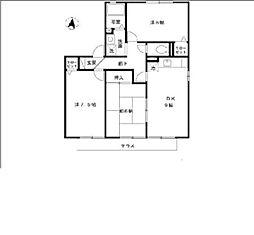 サンハイムヴィレッジ[1階]の間取り