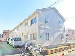 神奈川県大和市深見東3丁目の賃貸アパートの外観
