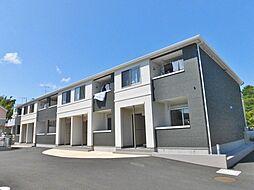神奈川県大和市上和田の賃貸アパートの外観