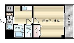 セルヴォワ小松[5階]の間取り