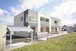 栃木県栃木市大平町富田の賃貸アパートの外観