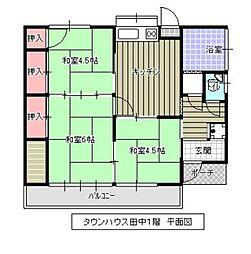 仮)タウンハウス田中[102号室]の間取り