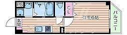 Osaka Metro谷町線 太子橋今市駅 徒歩1分の賃貸マンション 7階1Kの間取り