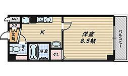 プリヴェ2号館[7階]の間取り