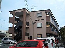 愛知県一宮市今伊勢町馬寄字志水の賃貸アパートの外観