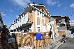 大阪府松原市天美東9の賃貸アパートの外観