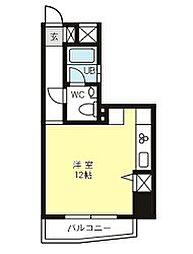 グランドパレスNS−77[8階]の間取り