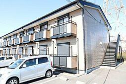 静岡県牧之原市東萩間の賃貸アパートの外観