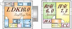 [テラスハウス] 兵庫県神戸市垂水区泉が丘2丁目 の賃貸【/】の間取り