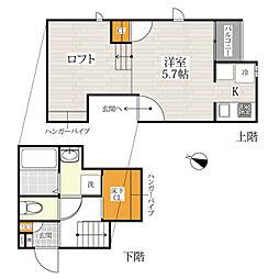 CB大和田ディアコート[1階]の間取り