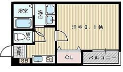 ノイヴェル大桐[2階]の間取り