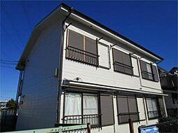 東京都日野市百草の賃貸アパートの外観