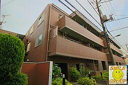 東京都江戸川区中央1丁目の賃貸マンションの外観