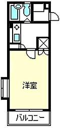 コンフォートマンション大宮[2階]の間取り