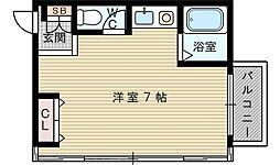 ヒルズ円山[3階]の間取り