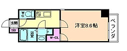 ODESSA福島[3階]の間取り