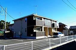 栃木県小山市大字粟宮の賃貸アパートの外観