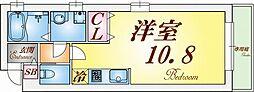 ワコーレヴィアーノ須磨寺町[1階]の間取り