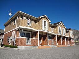 滋賀県彦根市極楽寺町の賃貸アパートの外観
