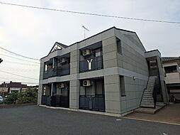 栃木県小山市犬塚8丁目の賃貸アパートの外観
