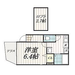 ブルゴーニュ・ハウス[1階]の間取り