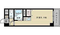 大阪府大阪市東淀川区淡路1の賃貸マンションの間取り