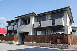 滋賀県近江八幡市出町の賃貸アパートの外観
