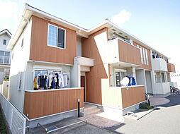 神奈川県厚木市愛甲東3丁目の賃貸アパートの外観