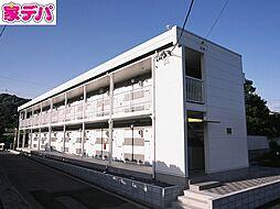 愛知県蒲郡市大塚町勝川の賃貸アパートの外観