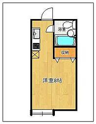 ニューエスト井尻2[102号室]の間取り