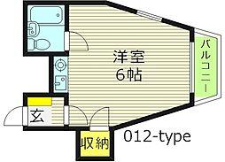 ロードピア[2階]の間取り