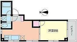 グラン・ジュテ横浜VII[3階]の間取り