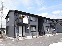 岡山県総社市門田の賃貸アパートの外観