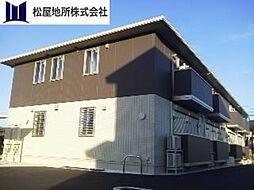 パーシモン平松[1階]の外観