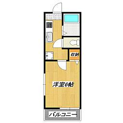 ギャラリー2133[101号室]の間取り