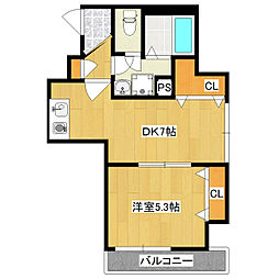光陽ビル[3階]の間取り