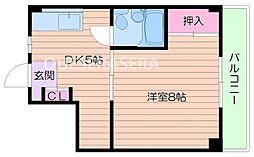 酒井マンション[3階]の間取り