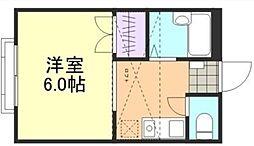 フルールSTT[2階]の間取り