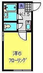PAO5 A棟[207号室]の間取り