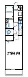 神奈川県座間市相模が丘6丁目の賃貸マンションの間取り