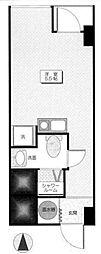 四谷サンハイツ[704号室]の間取り